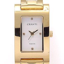 Guld armbåndsur